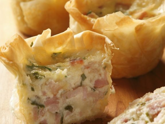 Celiac-friendly Ham Pastry Bakes