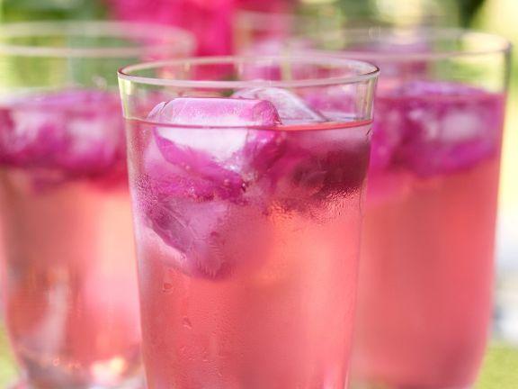 Floral Sparkling Drink