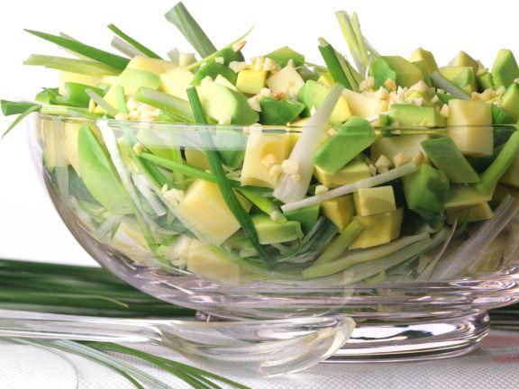 Cheese and Avocado Salad