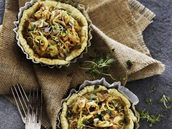 Cheese and Onion Tarts