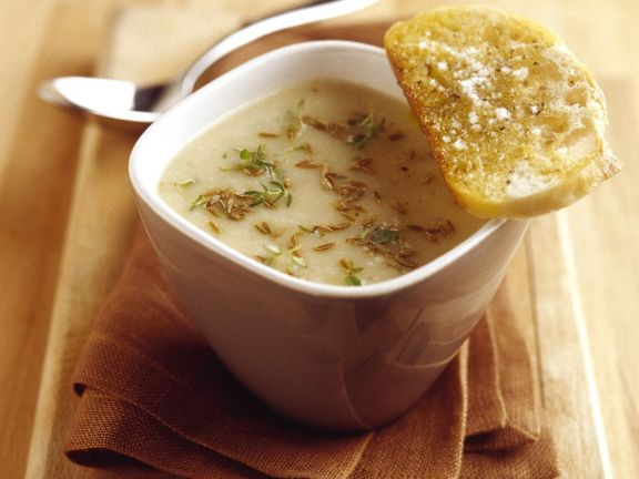 Cheese Broth with Spices