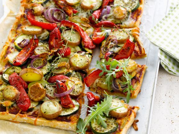 Cheese-free Veggie Pizza