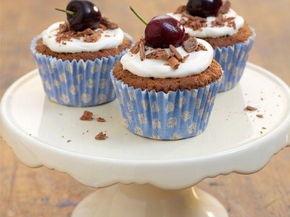 Cherry Chocolate Individual Cakes