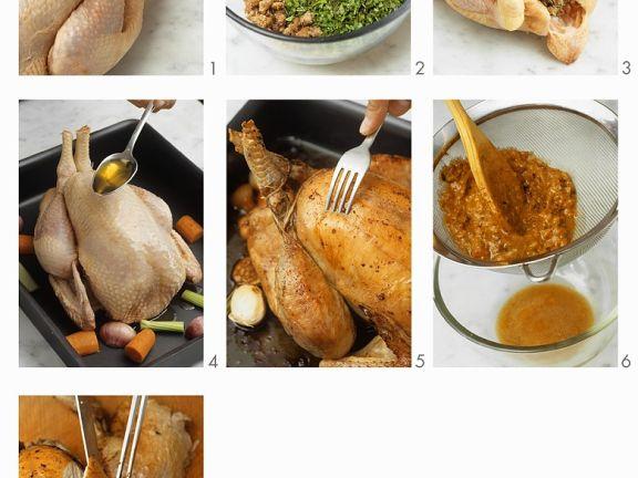 Chestnut Roast Chicken