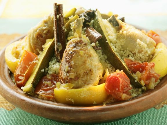 Chicken and Couscous Tagine