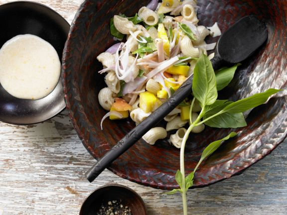 Chicken and Mango Pasta Salad