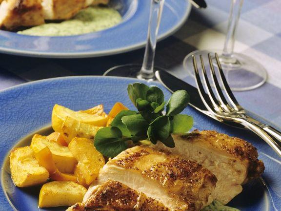 Chicken Breast with Zucchini
