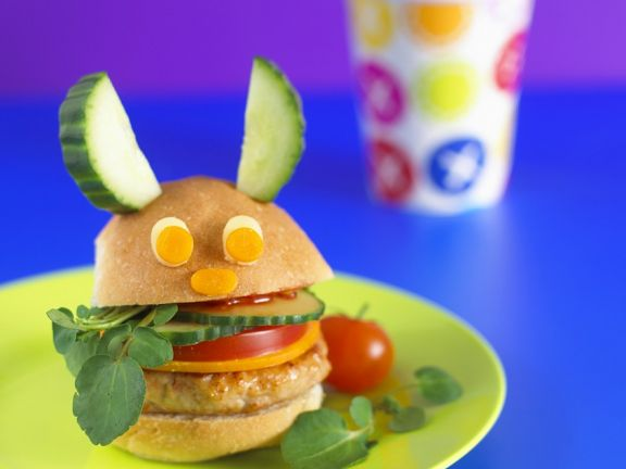 Chicken Burger for Kids
