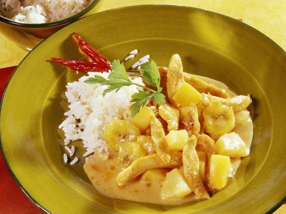 Chicken Curry with Fruit