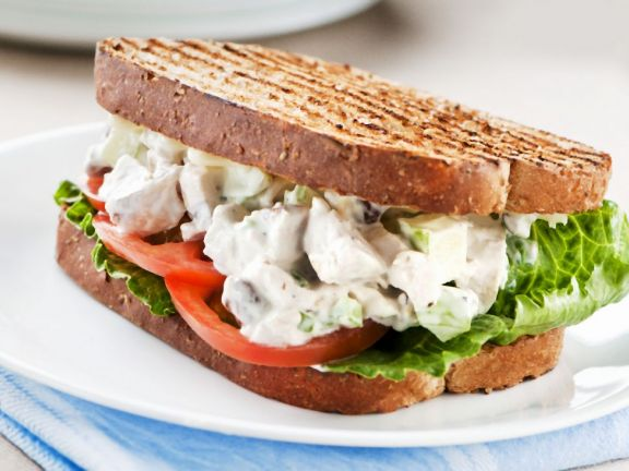 Chicken Salad Toasted Sandwich