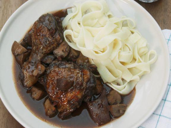 Chicken Stew with Pasta