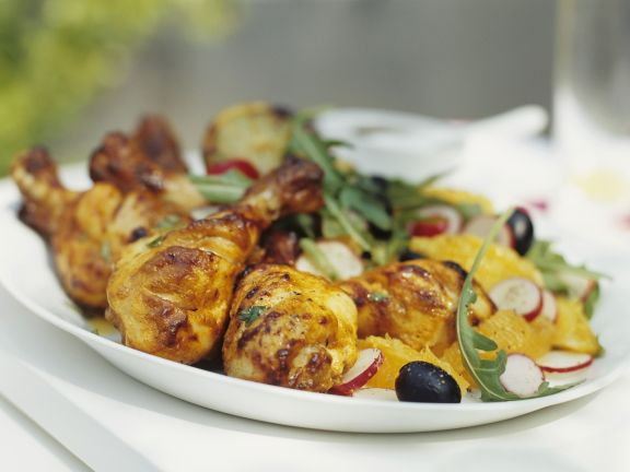 Chicken with Citrus Salad