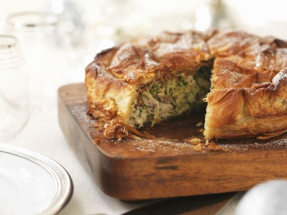 Chicken with Puff Pastry