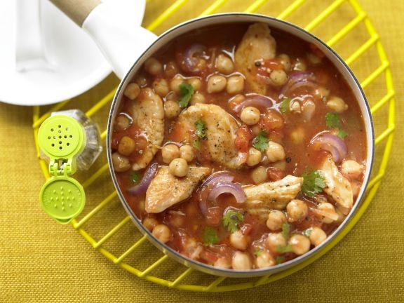 Chickpea and Tomato Ragout