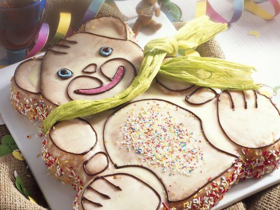 Chidren's Teddy Bear Cake