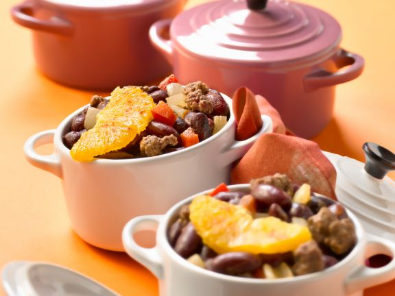 Chili Con Carne with Oranges
