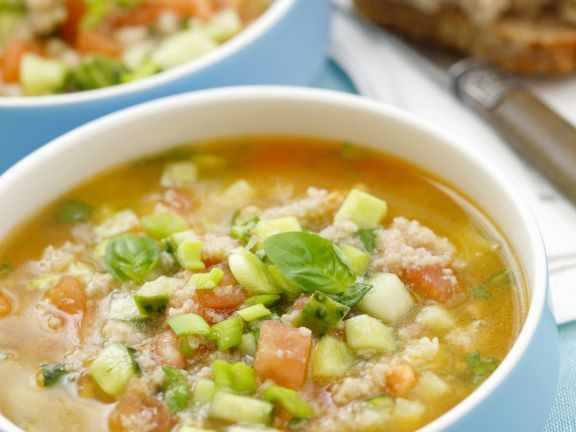 Cold Vegetable Soup