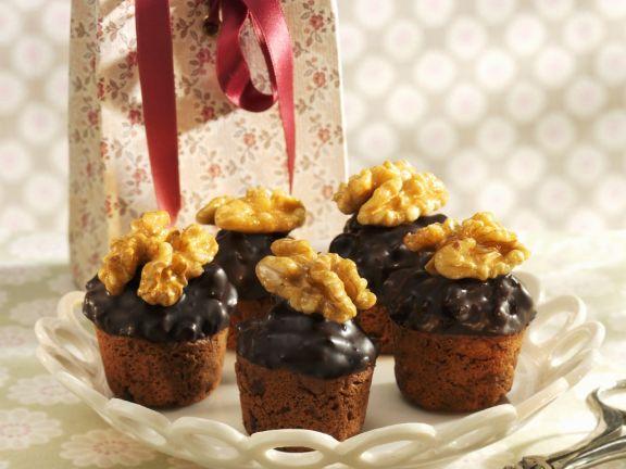 Choc Chip and Walnut Muffins