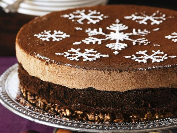 Choco-nut Mousse Cake for Celiacs