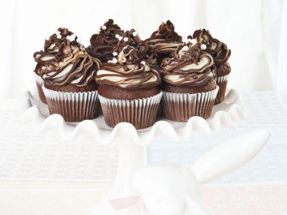 Chocolate and Vanilla Swirl Muffins