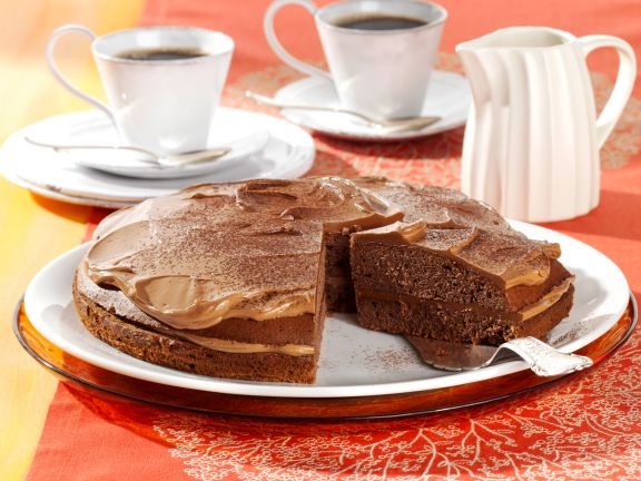 Chocolate Cake with Nougat Cream