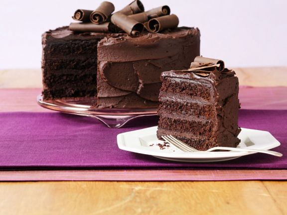 Chocolate Cream Gateau