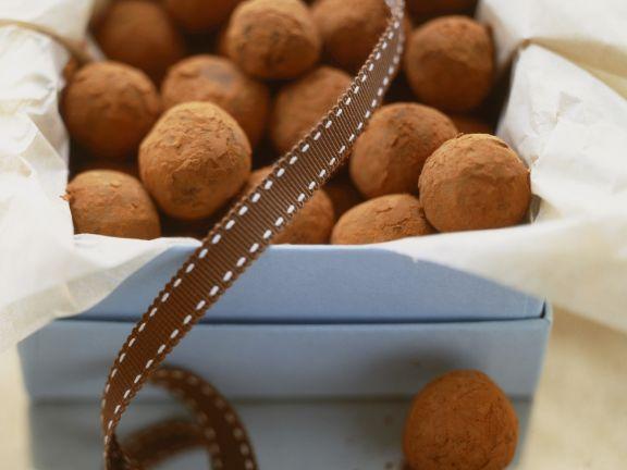Chocolate Cream Truffles