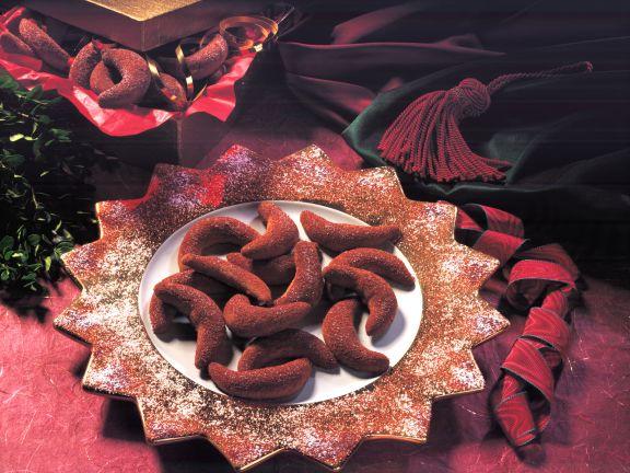 Chocolate Crescents