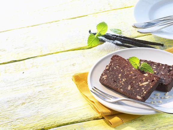 Chocolate Nut Loaf Cake