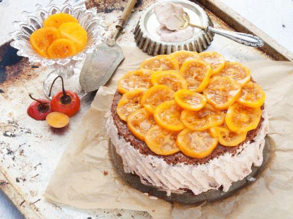 Chocolate Tamarillo Cream Cake