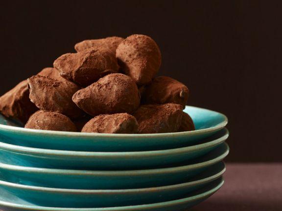 Chocolate Truffles with Rosemary