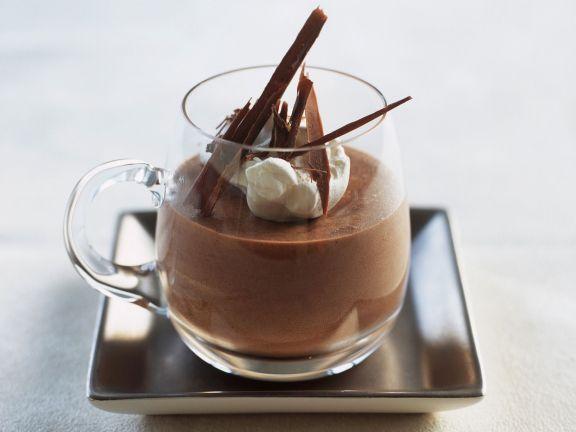 Airy Chocolate Puddings