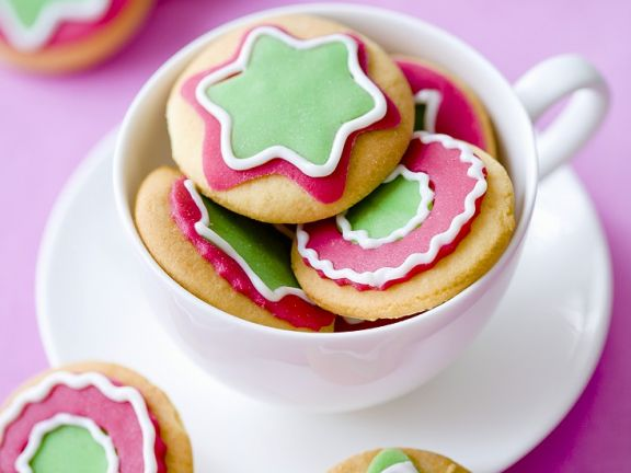 Christmas Cookies with Marzipan