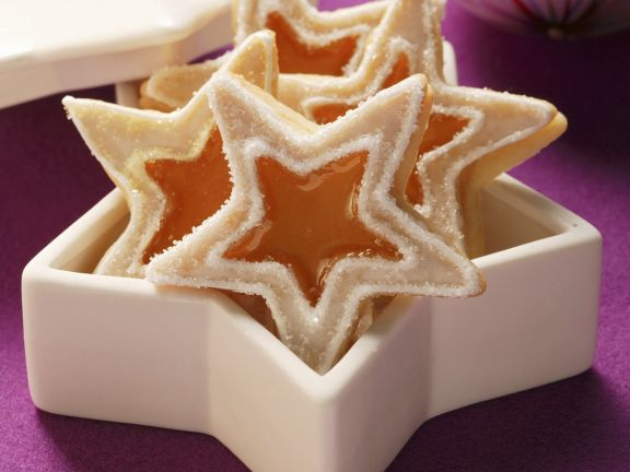 Star Cookies With Jam Filling Recipe Eat Smarter Usa
