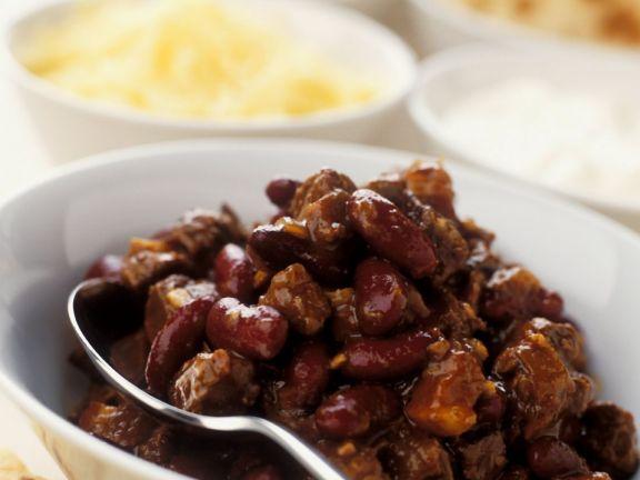 Chunky Beef Chilli Recipe Eat Smarter Usa