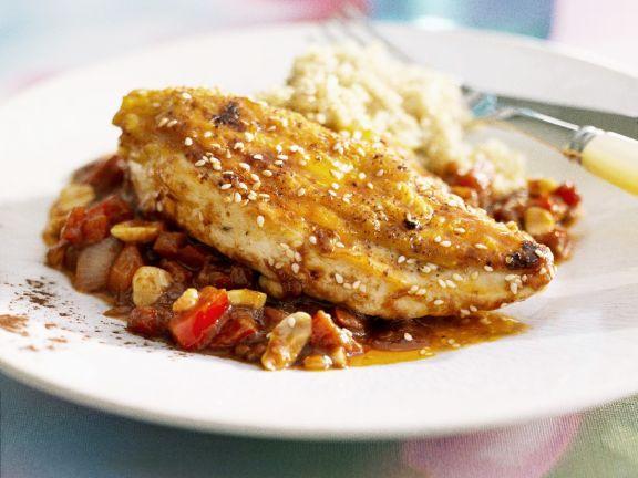 Chunky Satay Chicken