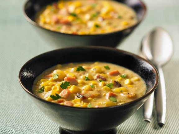 Chunky Sweetcorn Soup