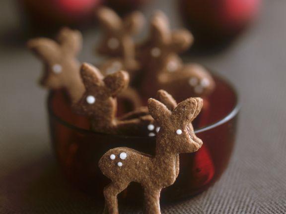 Festive Spiced Deer Cookies