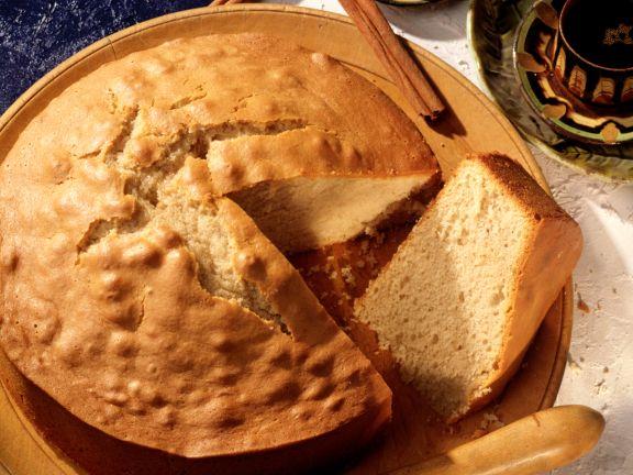 Cinnamon Olive Oil Cake
