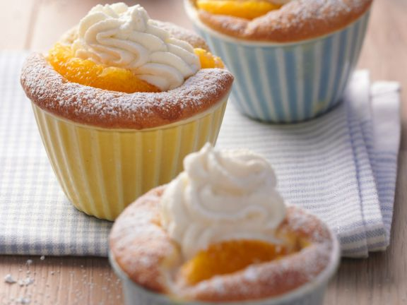 Citrus Batter Puddings