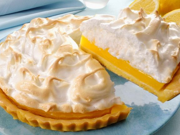 Citrus Curd Tart with Glazed Topping