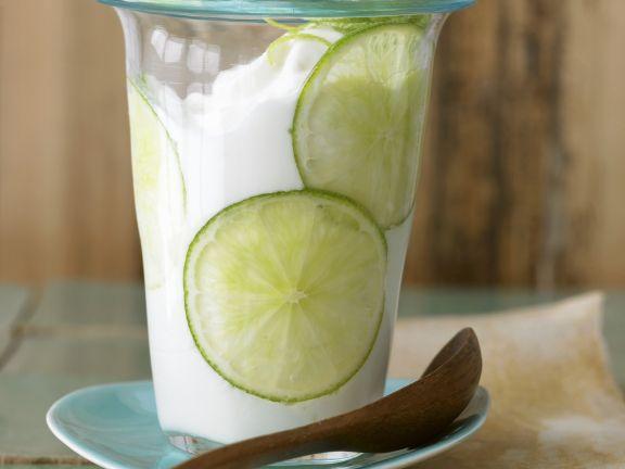 Citrus Fruit Yoghurt Cups