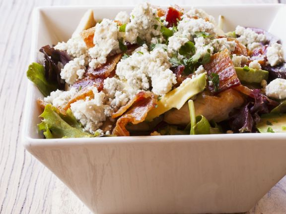 Classic Cobb Salad with Blue Cheese Crumbles