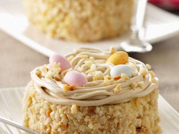 Cob Nut Buttercream Tortes