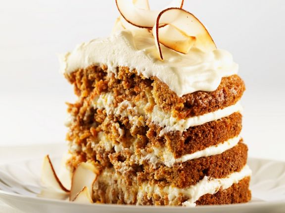 Coconut and Carrot Layer Cake