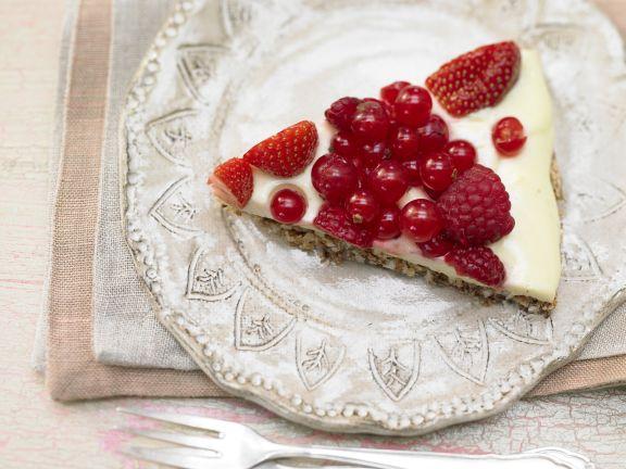 Coconut Berry Tart