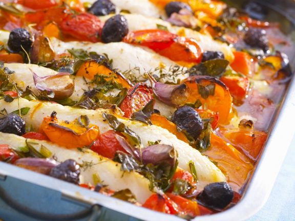 Cod and Vegetable Gratin
