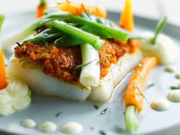 Cod Fillet with Tomato Crust