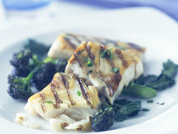 Cod with Broccoli