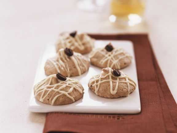 Coffee Almond Macaroon Cookies